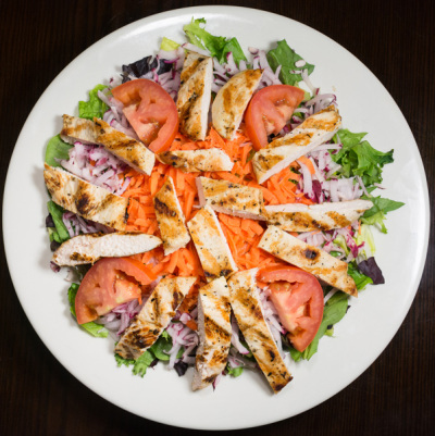 North State Pizza Grilled Chicken Salad
